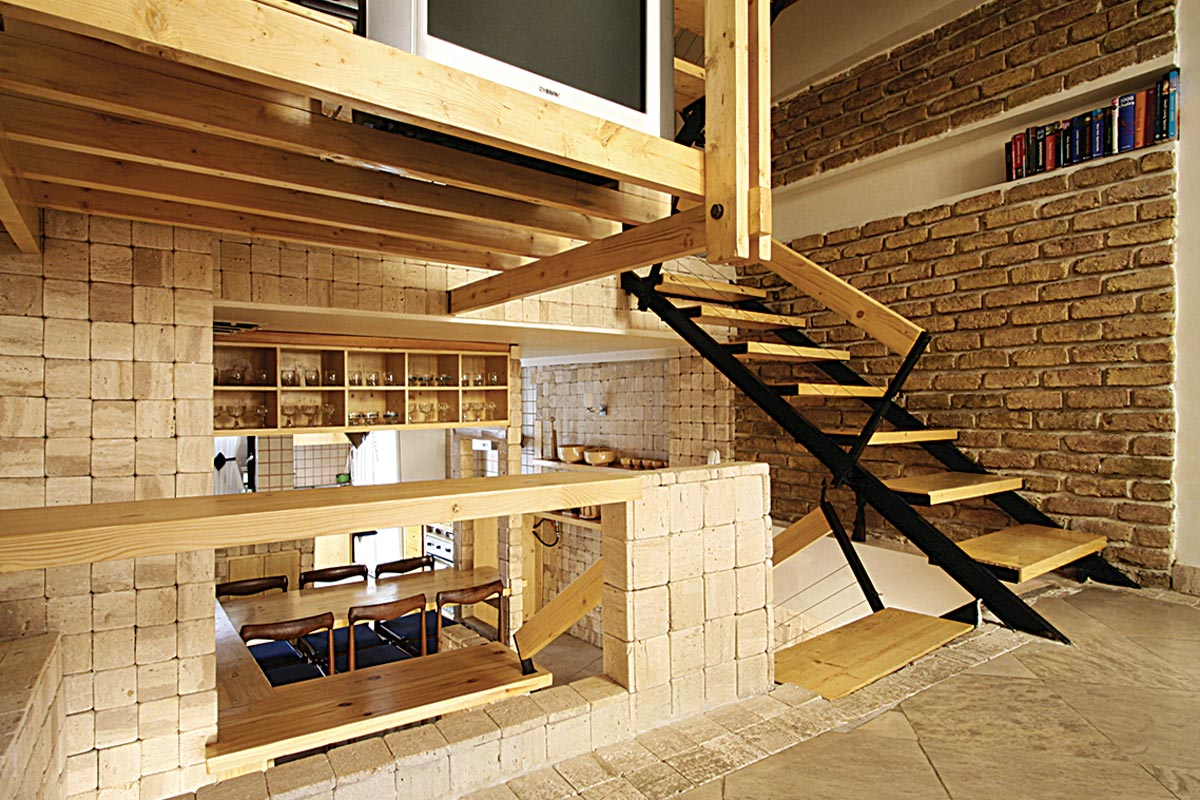 Stair House / Ramin Mehdizadeh - 1st Place