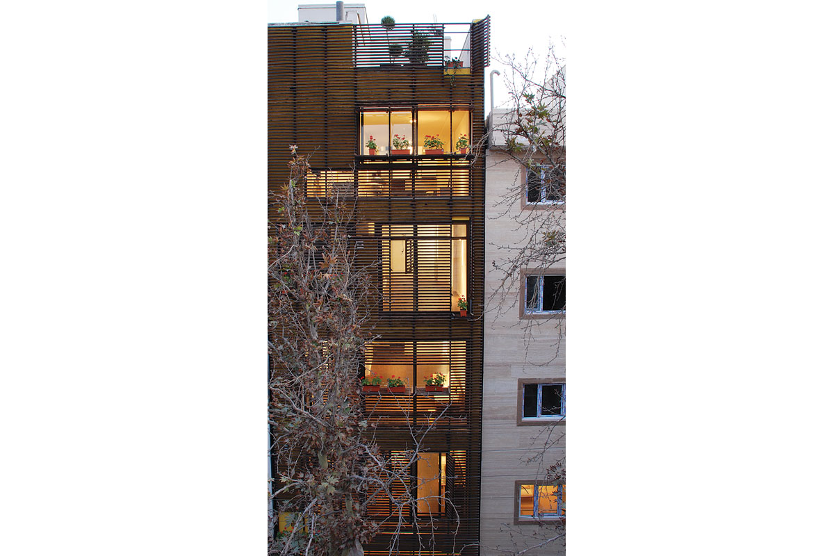 Dowlat 2 Residential Building / Arsh Design Group - 2nd Place