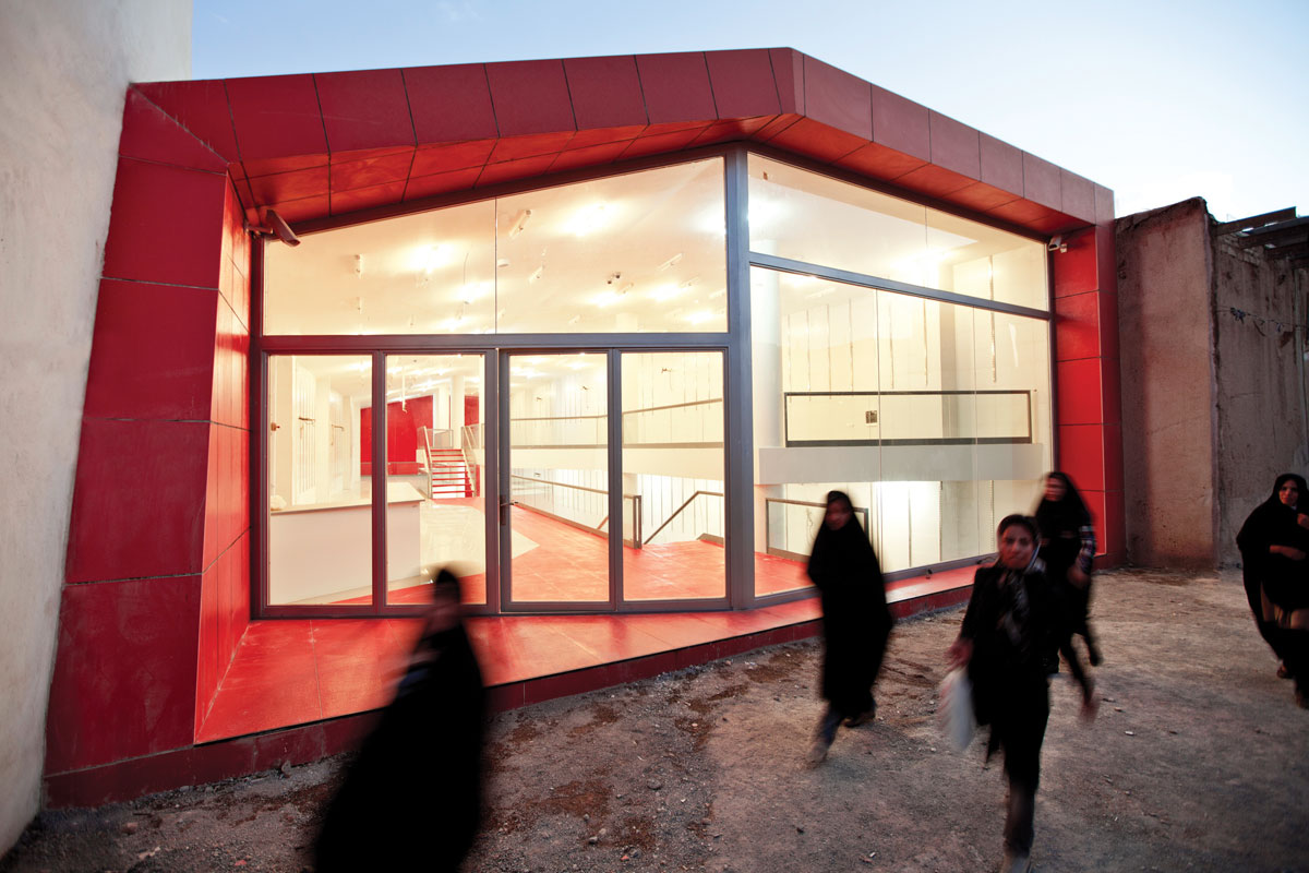 No name shop / Ayeneh Office - 2nd Place